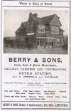Berry & Sons in Oxted 1900's